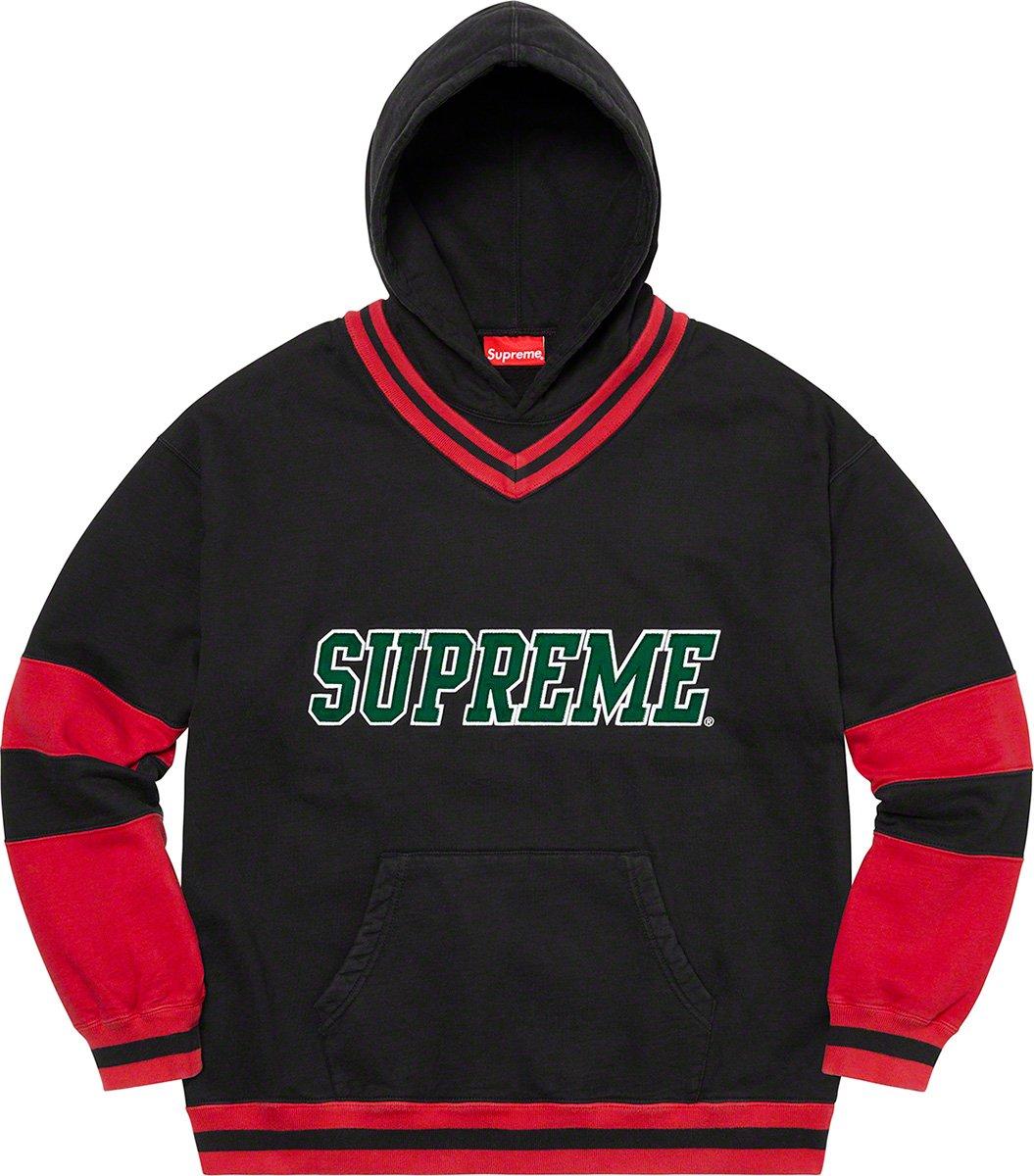 シュプリーム ザ・ノースフェイス コラボ 2020年 秋冬 新作 Supreme 2020fw week 10 Hockey Hooded Sweatshirt black