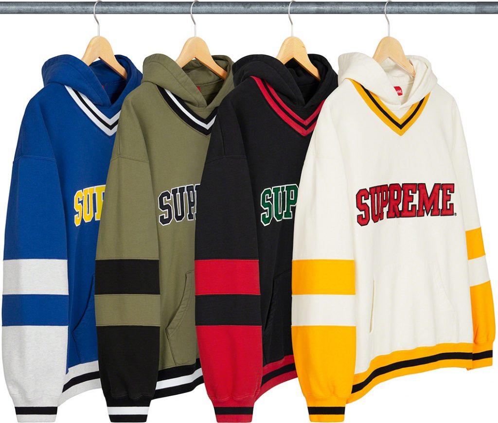 シュプリーム ザ・ノースフェイス コラボ 2020年 秋冬 新作 Supreme 2020fw week 10 Hockey Hooded Sweatshirt