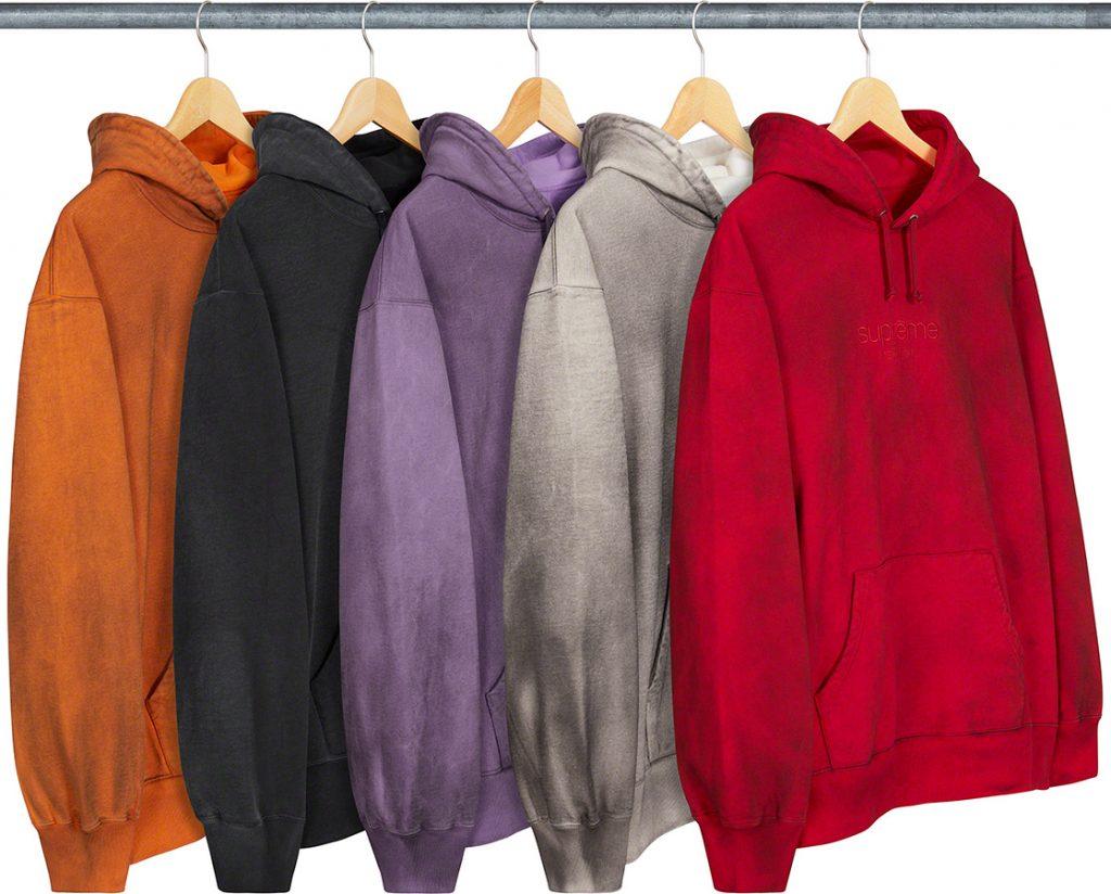 シュプリーム ザ・ノースフェイス コラボ 2020年 秋冬 新作 Supreme 2020fw week 10 Spray Hooded Sweatshirt
