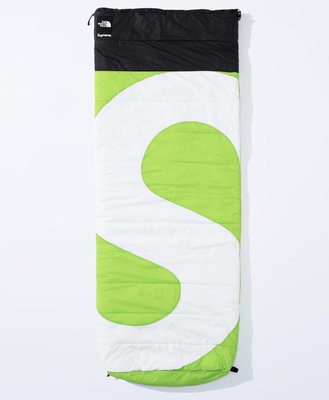 シュプリーム ザ・ノースフェイス コラボ 2020年 秋冬 新作 Supreme 2020fw week 10 The North Face S Logo Dolomite Sleeping Bag green