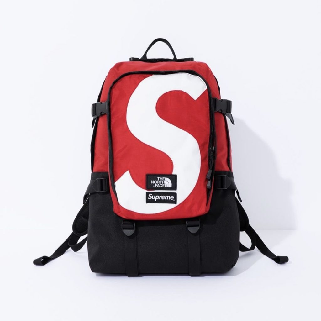 シュプリーム ザ・ノースフェイス コラボ 2020年 秋冬 新作 Supreme 2020fw week 10 The North Face S Logo Expedition Backpack red