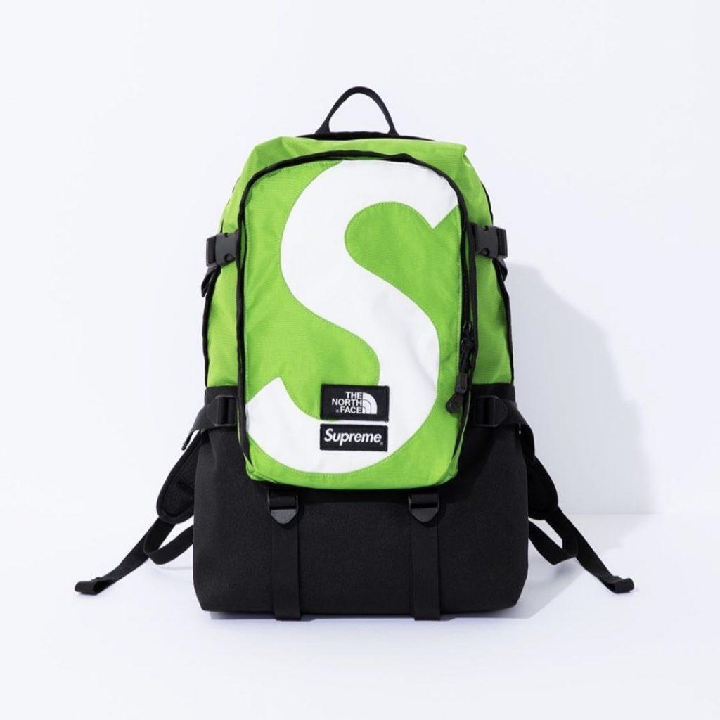 シュプリーム ザ・ノースフェイス コラボ 2020年 秋冬 新作 Supreme 2020fw week 10 The North Face S Logo Expedition Backpack green