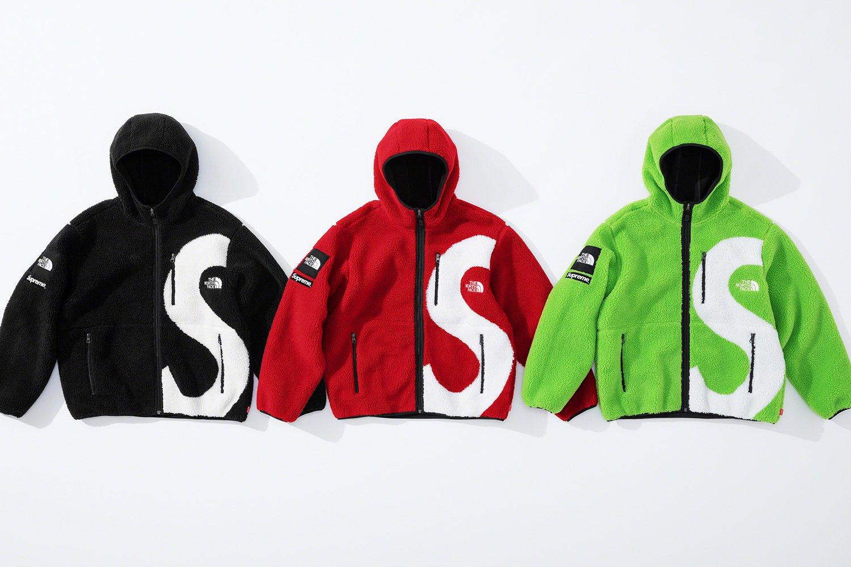 シュプリーム ザ・ノースフェイス コラボ 2020年 秋冬 新作 Supreme 2020fw week 10 The North Face S Logo Hooded Fleece Jacket 3 colors