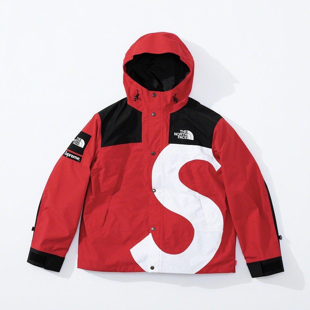 シュプリーム ザ・ノースフェイス コラボ 2020年 秋冬 新作 Supreme 2020fw week 10 The North Face S Logo Mountain Jacket red