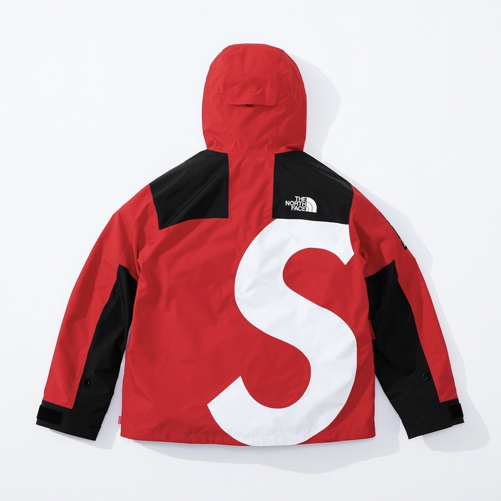 シュプリーム ザ・ノースフェイス コラボ 2020年 秋冬 新作 Supreme 2020fw week 10 The North Face S Logo Mountain Jacket red back