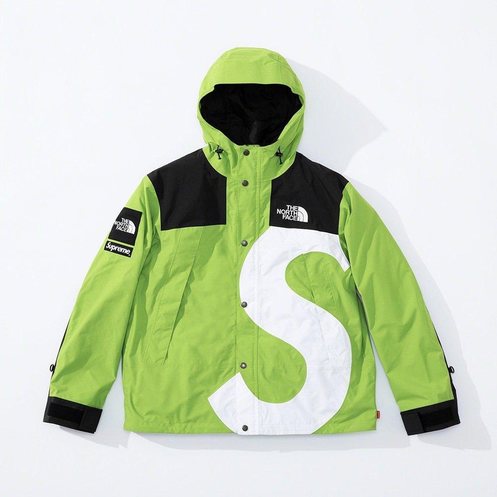 シュプリーム ザ・ノースフェイス コラボ 2020年 秋冬 新作 Supreme 2020fw week 10 The North Face S Logo Mountain Jacket green