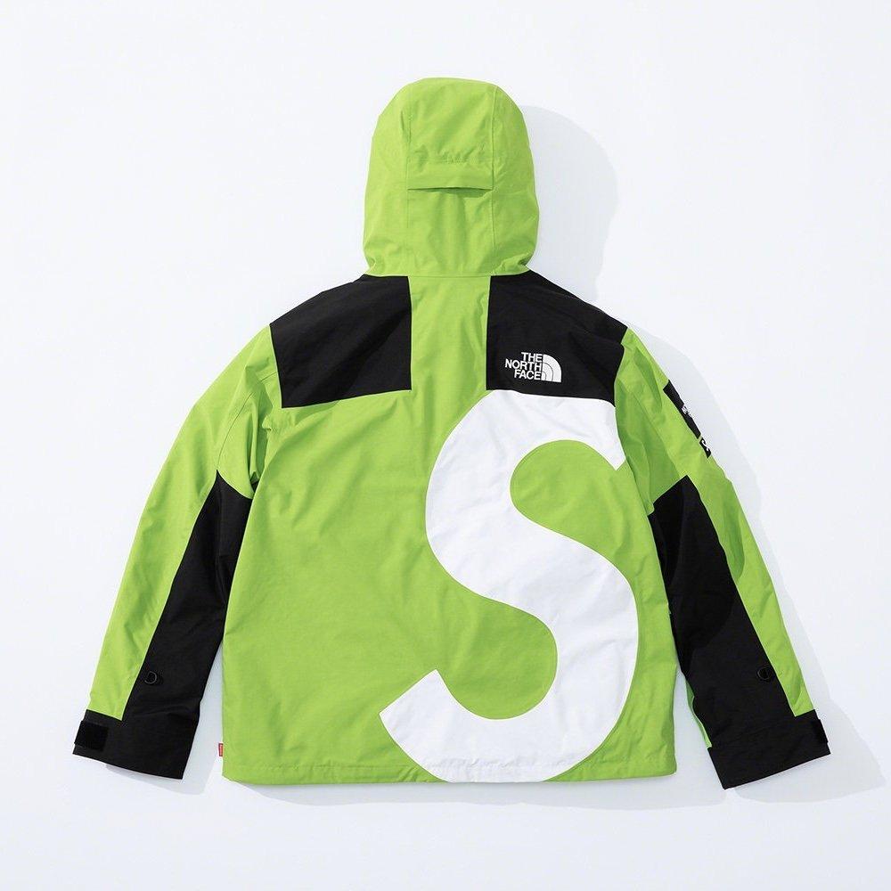 シュプリーム ザ・ノースフェイス コラボ 2020年 秋冬 新作 Supreme 2020fw week 10 The North Face S Logo Mountain Jacket green back