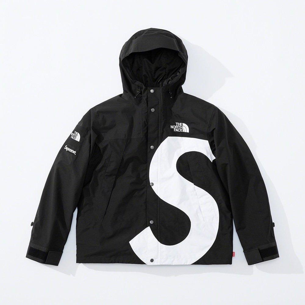 シュプリーム ザ・ノースフェイス コラボ 2020年 秋冬 新作 Supreme 2020fw week 10 The North Face S Logo Mountain Jacket black