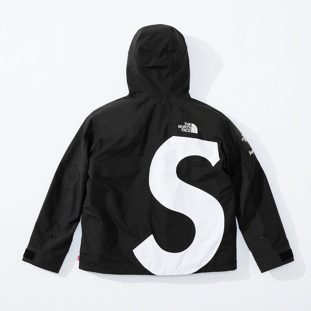 シュプリーム ザ・ノースフェイス コラボ 2020年 秋冬 新作 Supreme 2020fw week 10 The North Face S Logo Mountain Jacket black back