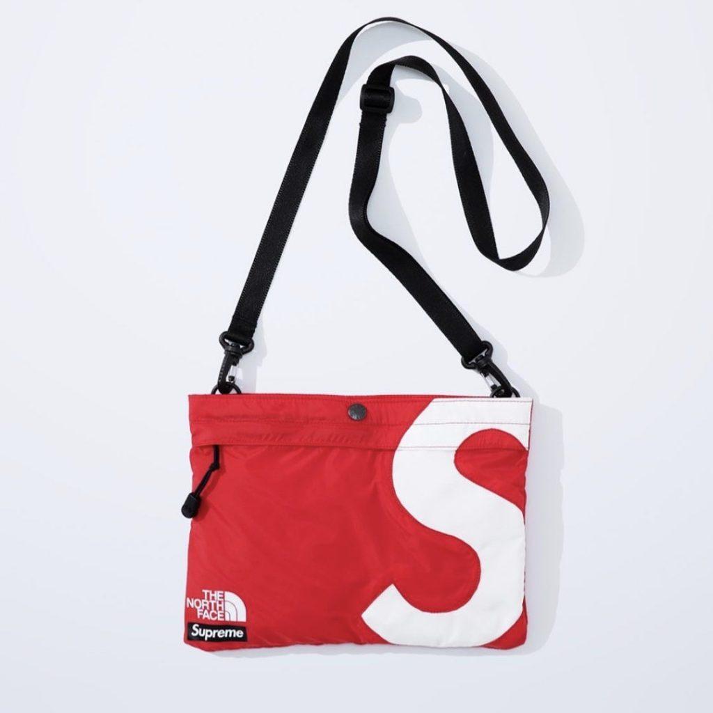 シュプリーム ザ・ノースフェイス コラボ 2020年 秋冬 新作 Supreme 2020fw week 10 The North Face S Logo Shoulder Bag red