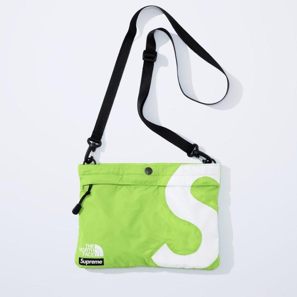 シュプリーム ザ・ノースフェイス コラボ 2020年 秋冬 新作 Supreme 2020fw week 10 The North Face S Logo Shoulder Bag green