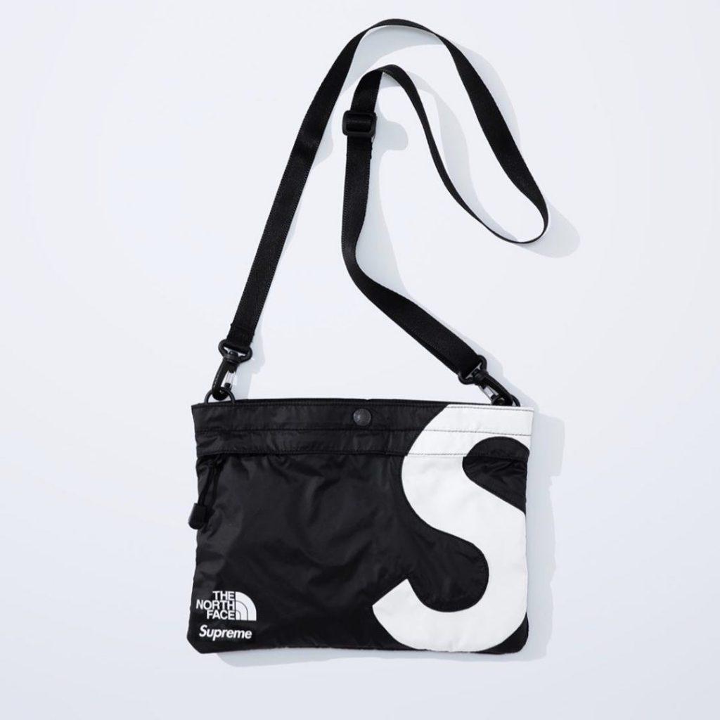 シュプリーム ザ・ノースフェイス コラボ 2020年 秋冬 新作 Supreme 2020fw week 10 The North Face S Logo Shoulder Bag black