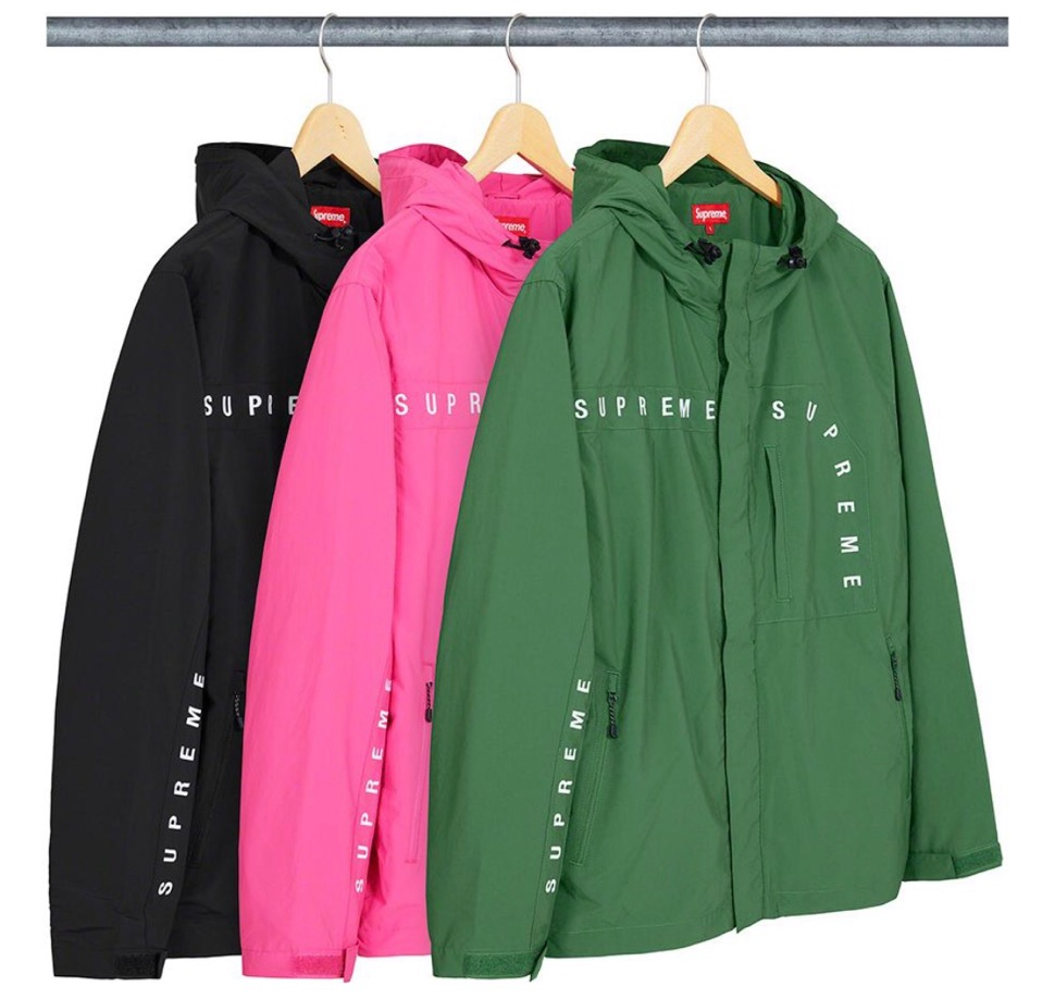 Supreme 2020fw week6 Curve Logos Ripstop Jacket シュプリーム 2020年 秋冬 カーブ ロゴ リップストップ ジャケット