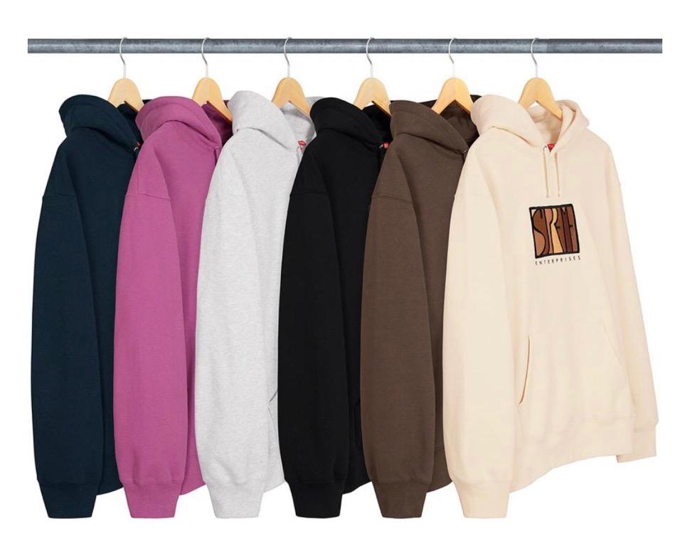 Supreme 2020fw week6 Enterprises Hooded Sweatshirt シュプリーム 2020年 秋冬 エンタープライズ フード スウェットシャツ