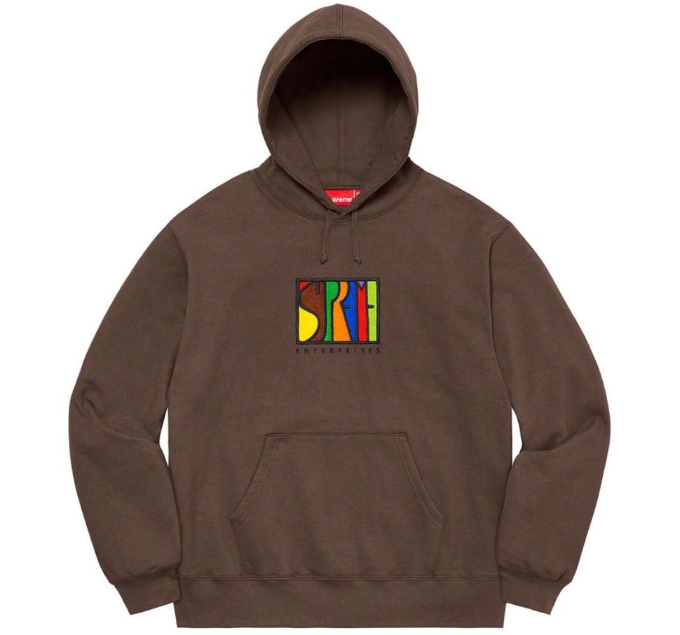 Supreme 2020fw week6 Enterprises Hooded Sweatshirt シュプリーム 2020年 秋冬 エンタープライズ フード スウェットシャツ brown