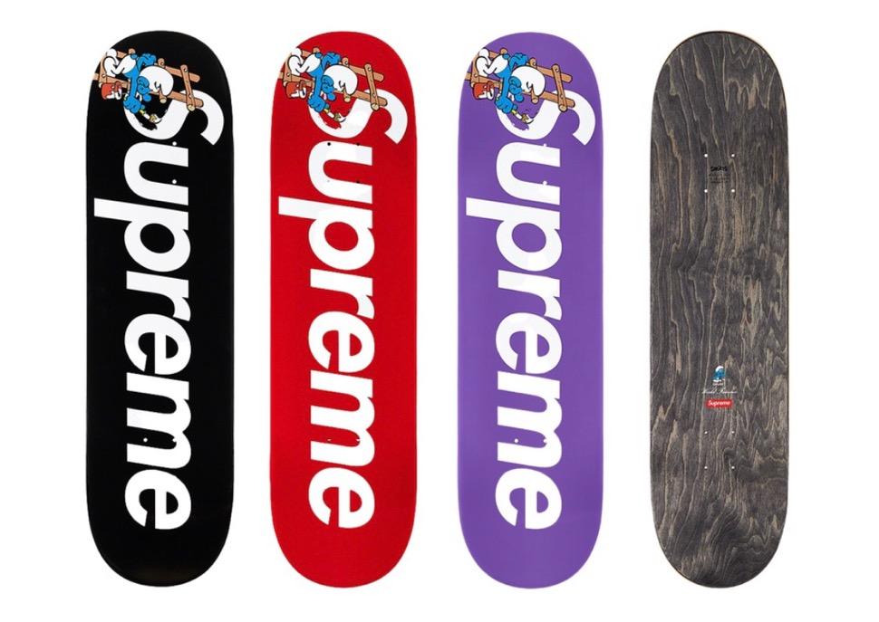 Supreme 2020fw week6 Supreme Smurfs Skateboard シュプリーム 2020年 秋冬