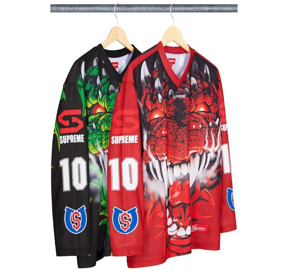 Supreme 2020fw week7 Dragon Hockey Jersey シュプリーム 2020年 秋冬 ドラゴン ホッケー ジャージー