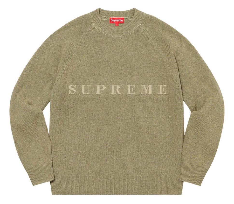 Supreme 2020fw week7 Stone Washed Sweater シュプリーム 2020年 秋冬 ストーン ウォッシュド セーター