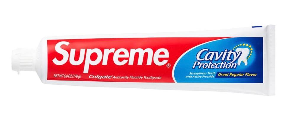 シュプリーム 2020年 秋冬 コラボ コルゲート 歯磨き粉 Supreme 2020fw week7 Supreme Colgate Toothpaste
