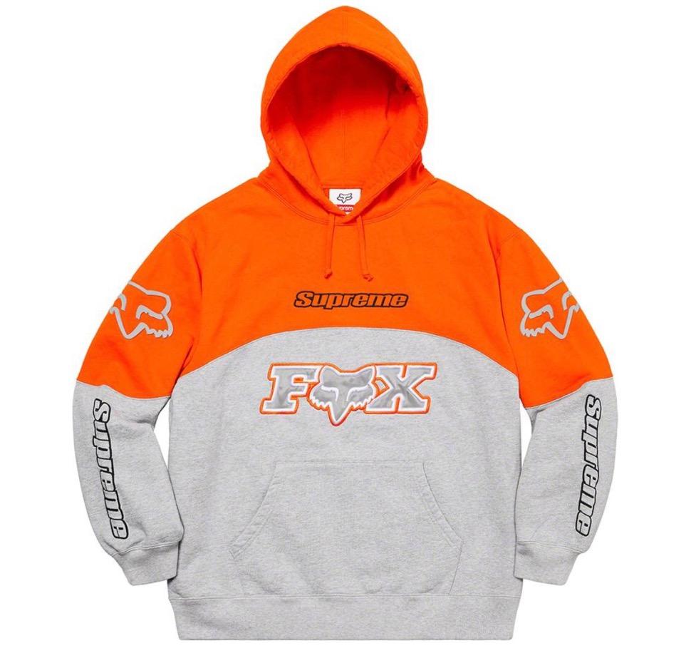 Supreme 2020fw week7 Supreme Fox Racing Hooded Sweatshirt シュプリーム 2020年 秋冬 フォックス コラボ フーディ スウェットシャツ