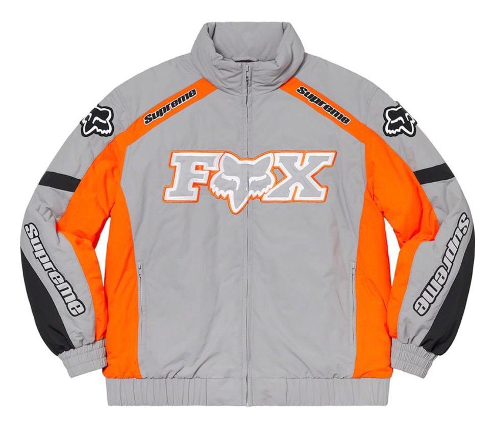 Supreme 2020fw week7 Supreme Fox Racing Puffy Jacket シュプリーム 2020年 秋冬 フォックス コラボ パフィ ジャケット