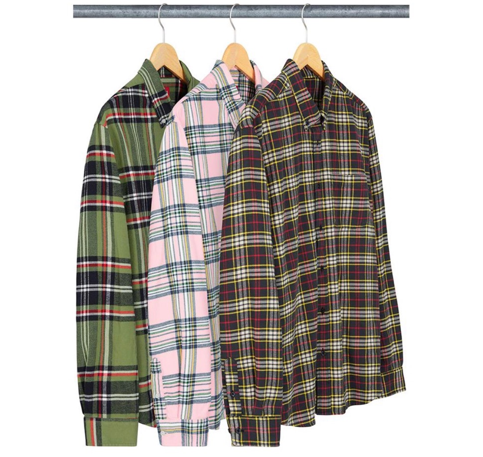 Supreme 2020fw week7 Tartan Flannel Shirt シュプリーム 2020年 秋冬 タータン フラネル チェック シャツ