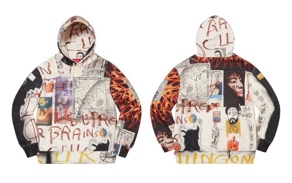 シュプリーム LSD スペル フーディ スウェットシャツ Supreme 2020fw week8 LSD Spells Hooded Sweatshirt