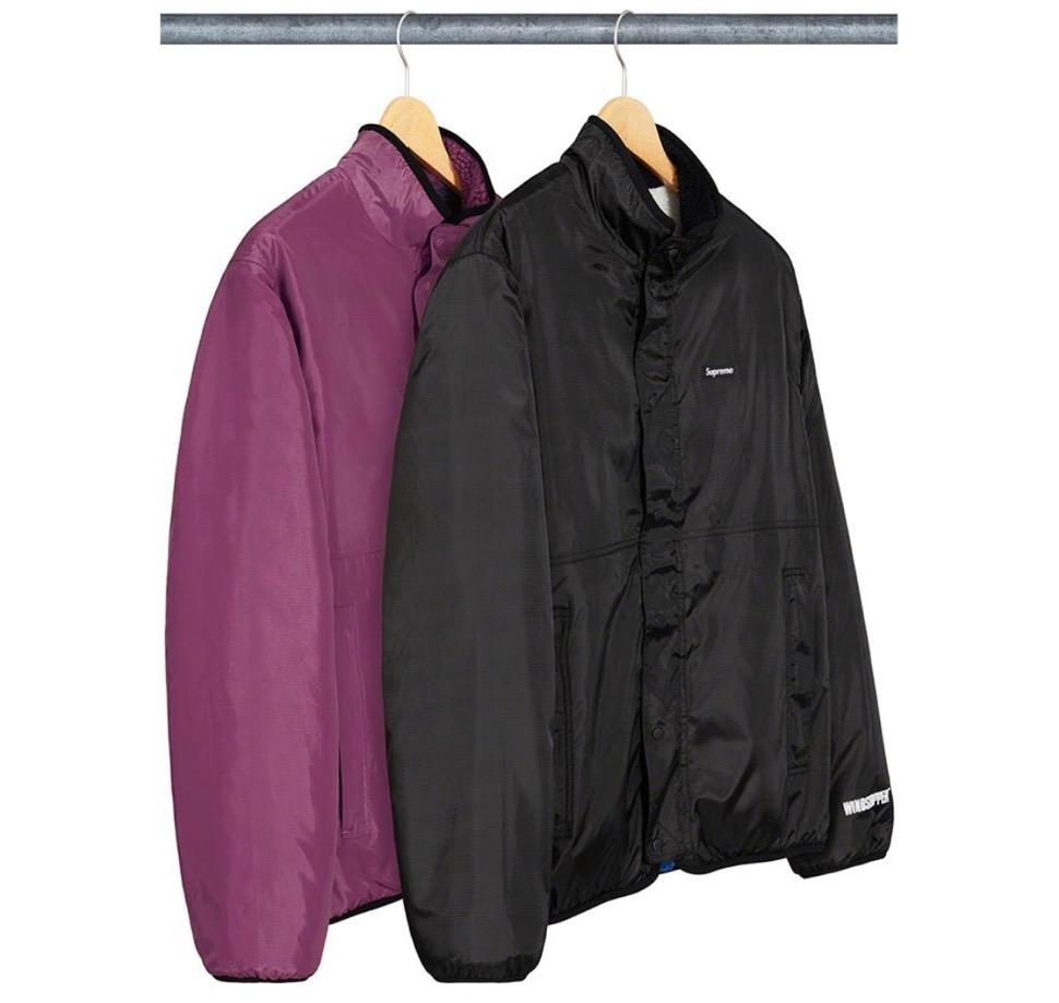 シュプリーム リバーシブル カラーブロック フリース ジャケット Supreme 2020fw week8 Reversible Colorblocked Fleece Jacket 2 colors
