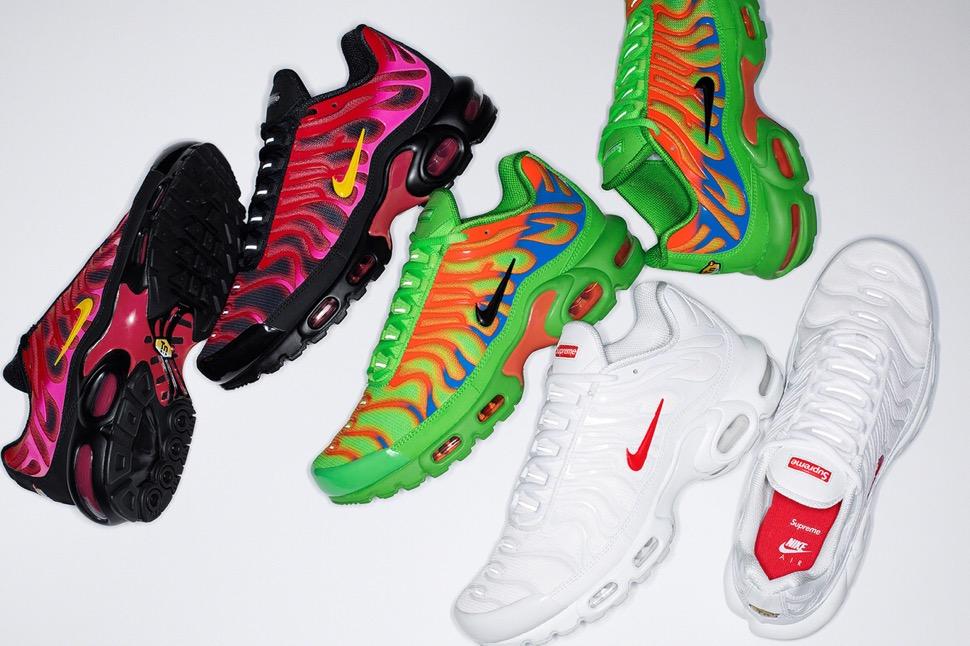 シュプリーム 最新 新作 ナイキ コラボ スニーカー Supreme Nike 2020fw week8 sneaker 3 colors