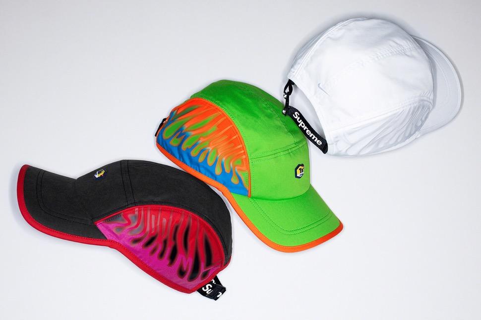 シュプリーム 最新 新作 ナイキ コラボ スニーカー Supreme Nike 2020fw week8 cap hat 3 colors