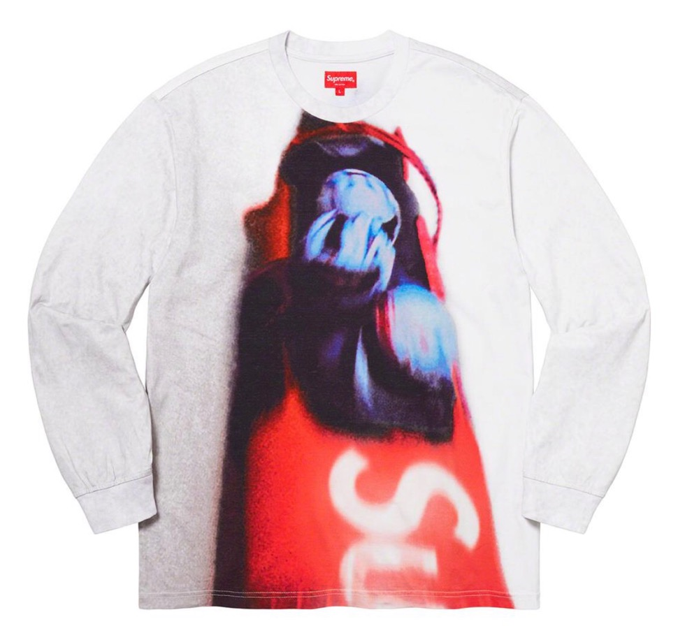 Supreme 2020fw week9 Bobsled LS Top シュプリーム 2020年 秋冬 新作 ロングスリーブ Tシャツ white