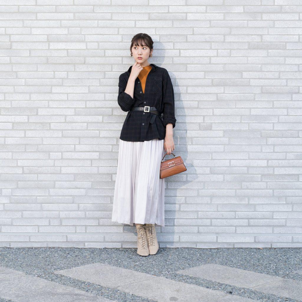 ワークマン女子 おすすめ 人気 アイテム 商品 コーディネート Workman Joshi Coodinate items チェックシャツ