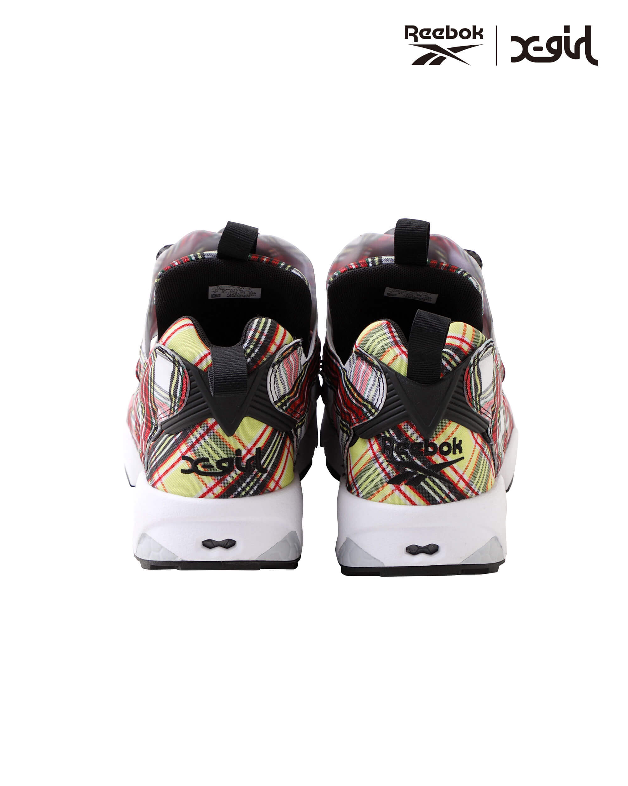X-girl Reebok Instapump Fury Collaboration Collection 2020 エックスガール リーボック コラボ コレクション 最新 新作 インスタポンプフューリー sneaker back