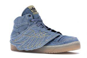 派手スニーカー特集:adidas JS Wings Jeremy Scott Denim