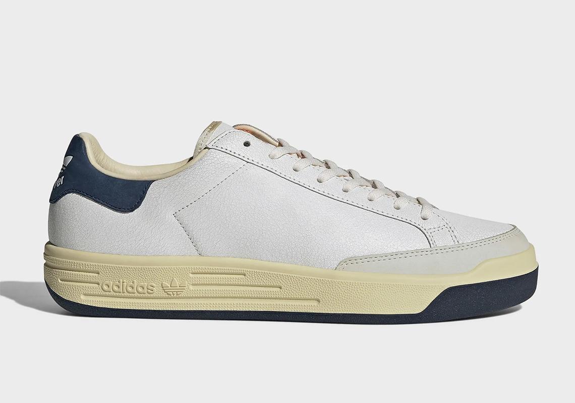 アディダス ロッド レイバー adidas-rod-laver-cracked-leather-FY4494-side