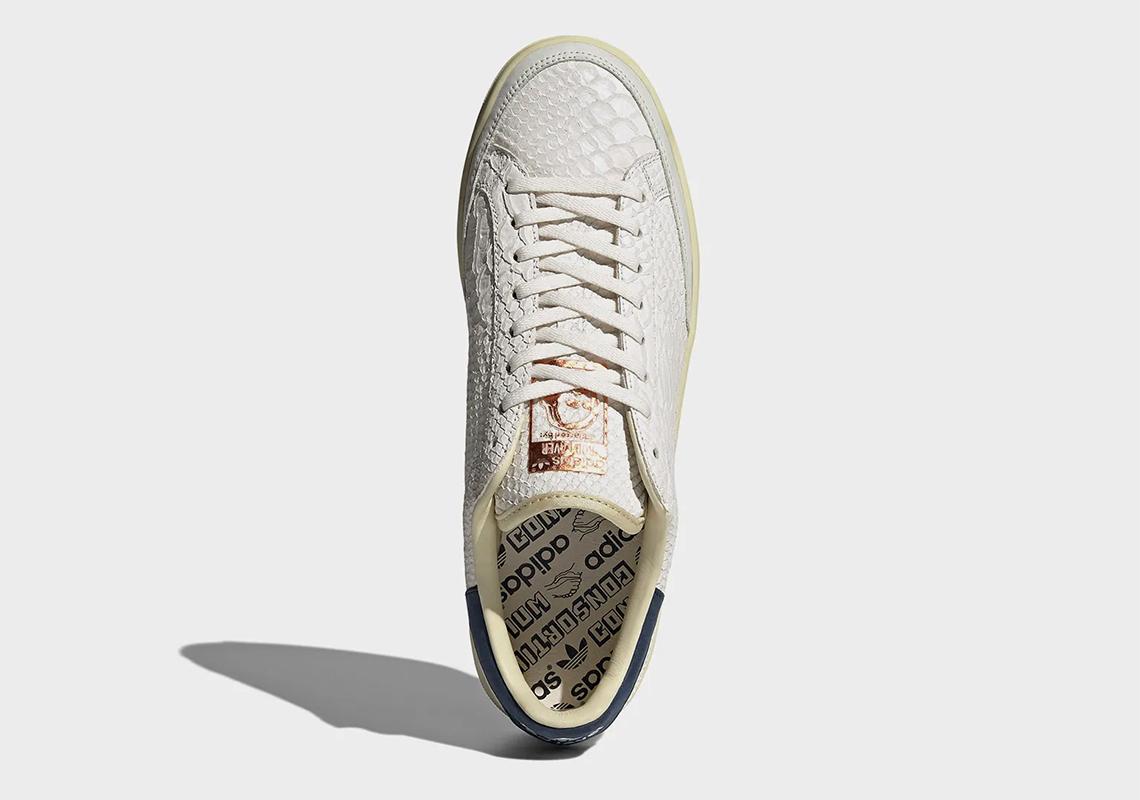 アディダス ロッド レイバー adidas-rod-laver-python-FY4491-top