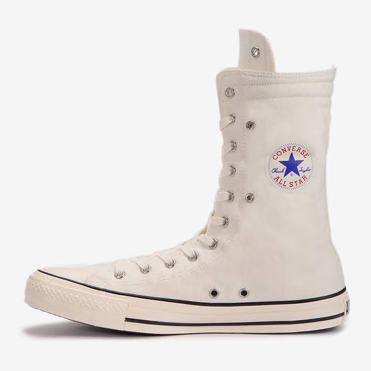 コンバース チャックテイラー オールスター US KNEE-HI ホワイト convers-chucktaylor-allstar-us-knee-hi-31303250-logo-side2