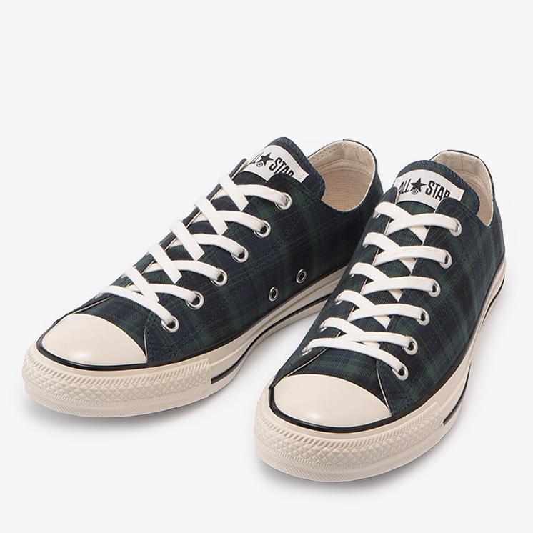 コンバース オールスター us チェック ox ネイビー converse-all-star-us-check-ox-navy 31303240210-pair