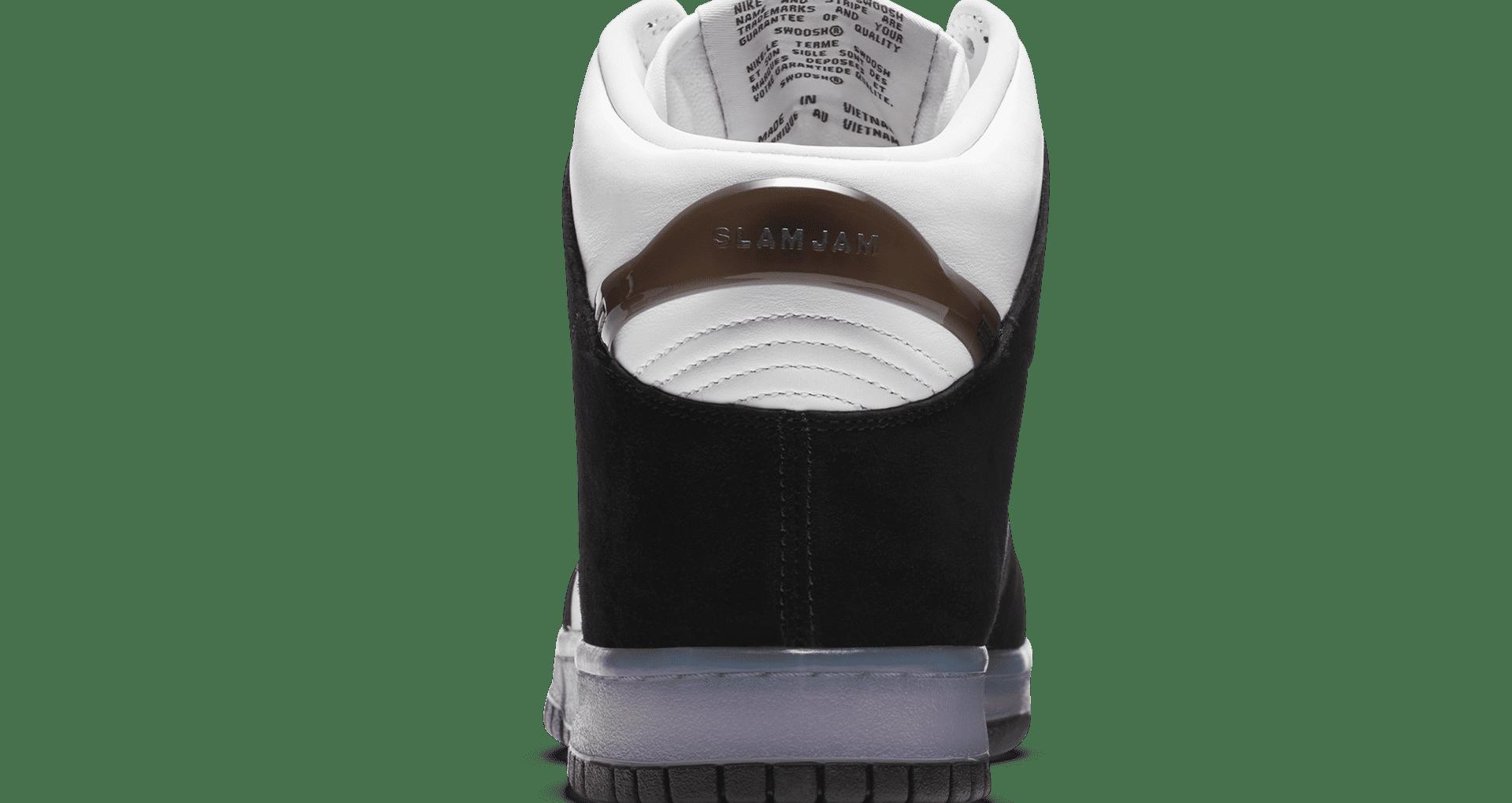 スラムジャム × ナイキ ダンク ハイ クリアブラック nike-dunk-high-x-slam-jam-clear-black-DA1639-101-heel