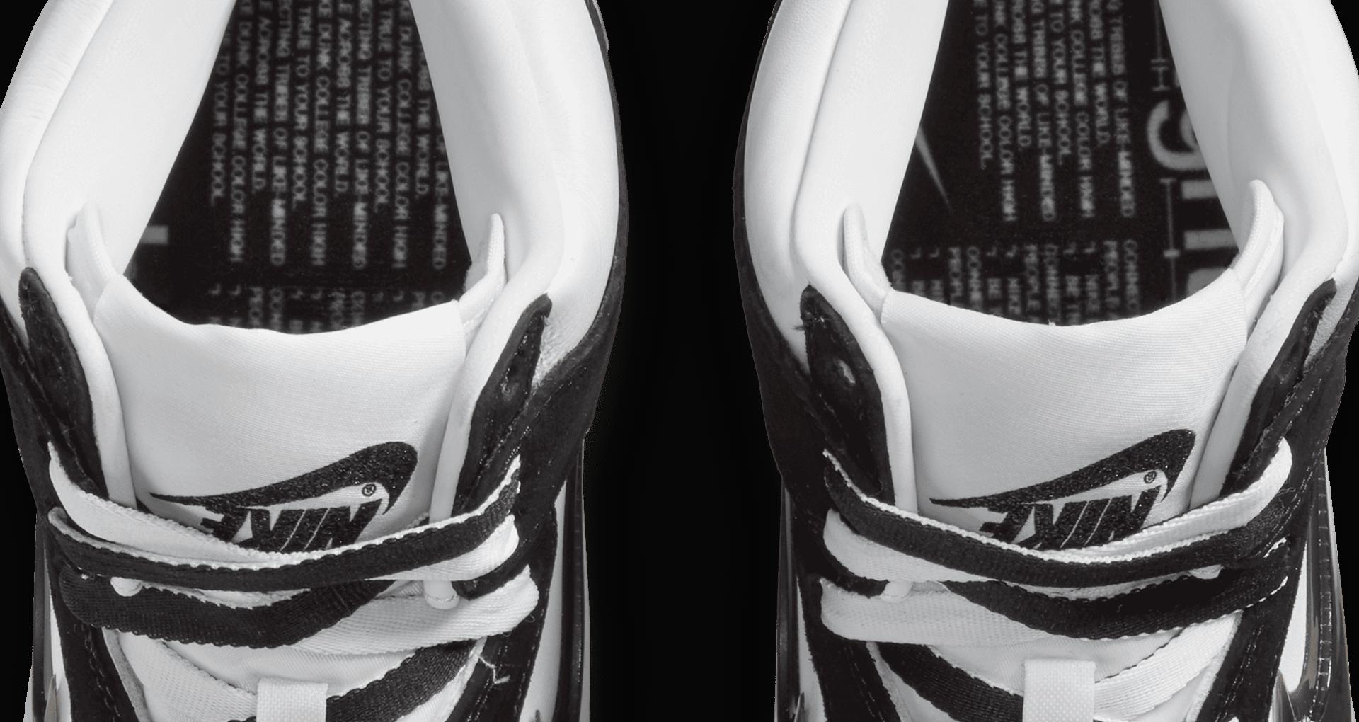 スラムジャム × ナイキ ダンク ハイ クリアブラック nike-dunk-high-x-slam-jam-clear-black-DA1639-101-top-closeup
