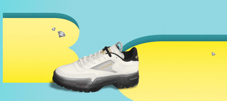 Reebok CLASSIC x Cardi B カーディ・B クラブ シー Cardi B Club C Shoes コラボ image product