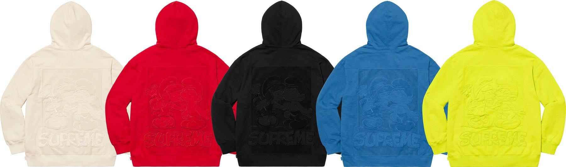 Supreme 2020fw week6 Supreme Smurfs Hooded Sweatshirt シュプリーム 2020年 秋冬 スマーフ スウェットシャツ 5 colors
