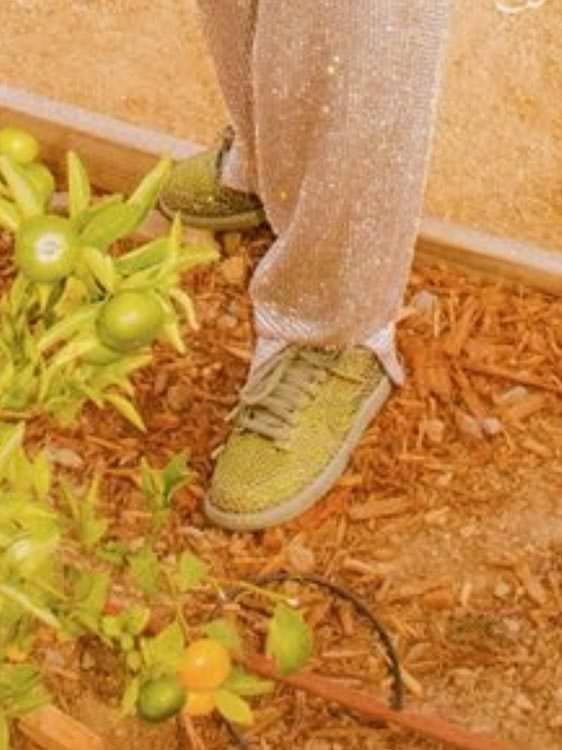 トラヴィス スコット カクタスプラントフリーマーケット CPFM コラボ ダンク ロー travis scott cactus plant flea market nike dunk low spiral sage cz2670-300 着用