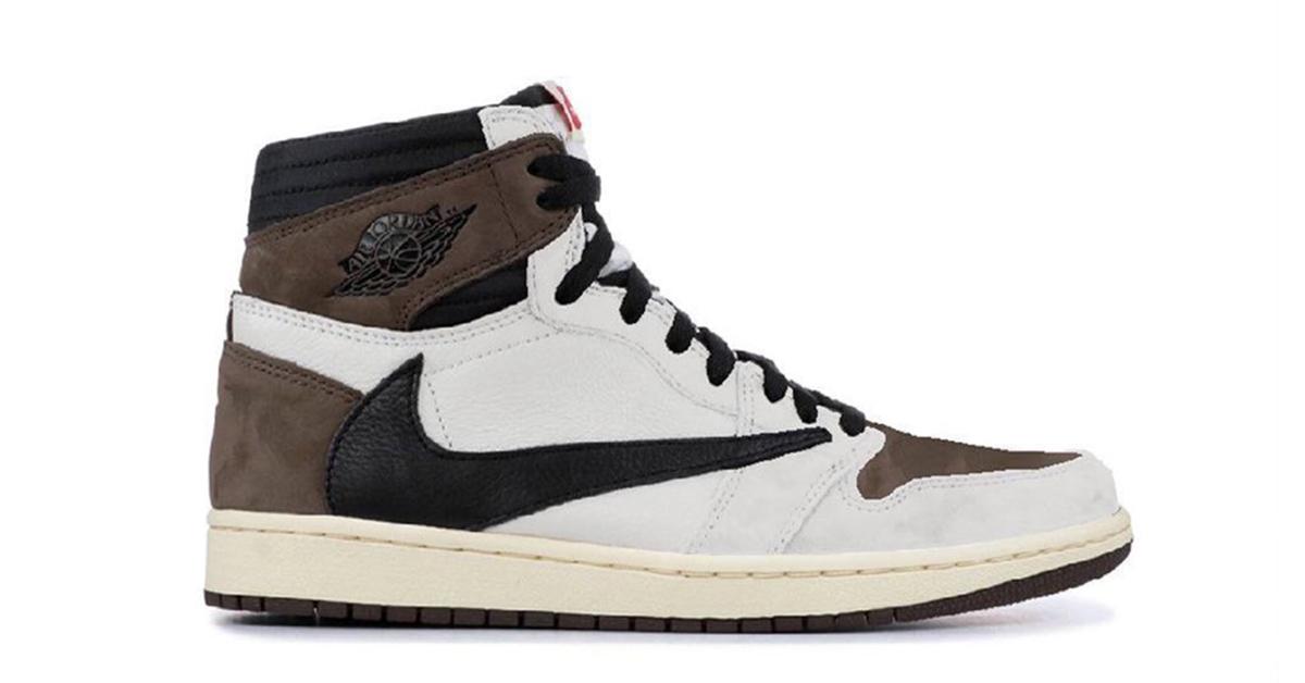 トラヴィス スコットナイキ コラボ エア ジョーダン 1 Travis Scott Nike Air Jordan 1 Alternate Reverse design image