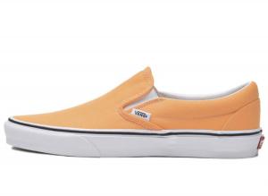 イエベ春に似合う色2:オレンジ vans_classic_slipon_orange