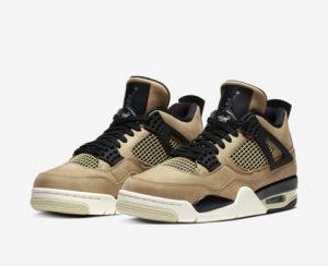 WMNS Air Jordan 4 (ウィメンズエアジョーダン4) Nike-womens-air-jordan-iv-fossil