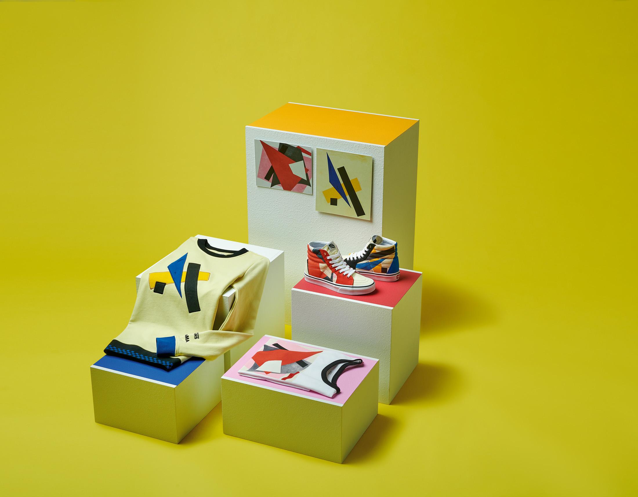 モマ ヴァンズ バンズ コラボ コレクション 限定 第 2弾 MoMA Vans Collaboration Collection Part 2 release item