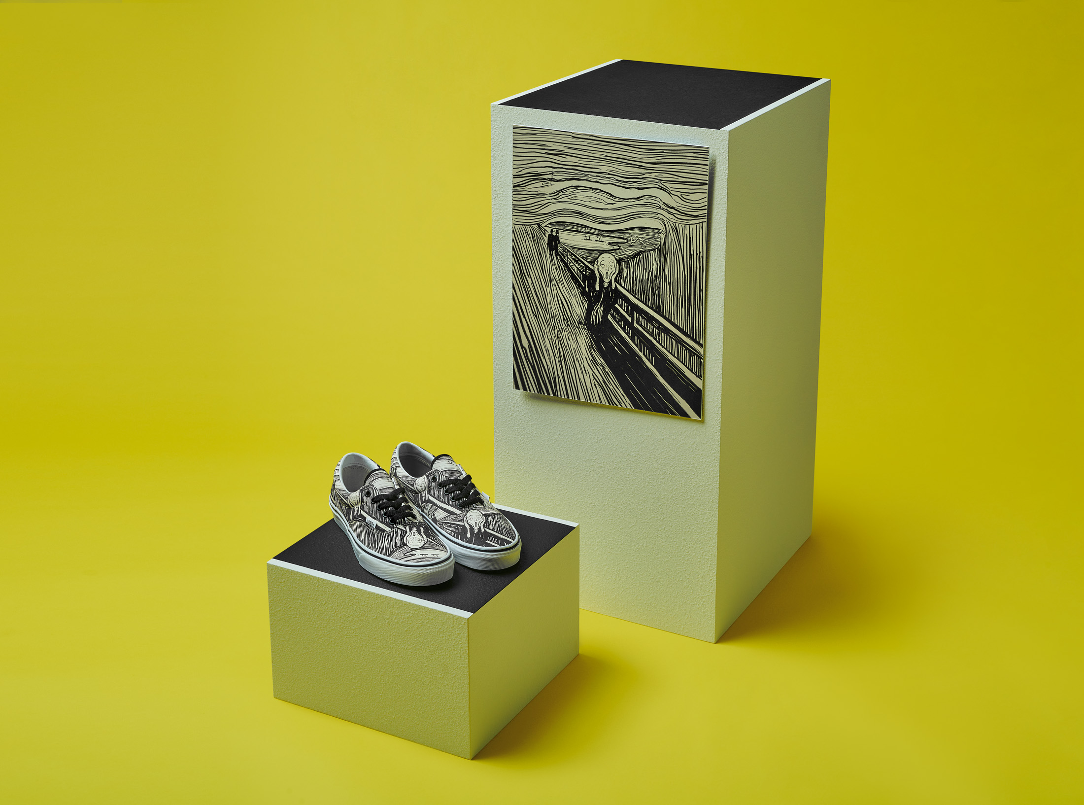 モマ ヴァンズ バンズ コラボ コレクション 限定 第 2弾 MoMA Vans Collaboration Collection Part 2 ムンク
