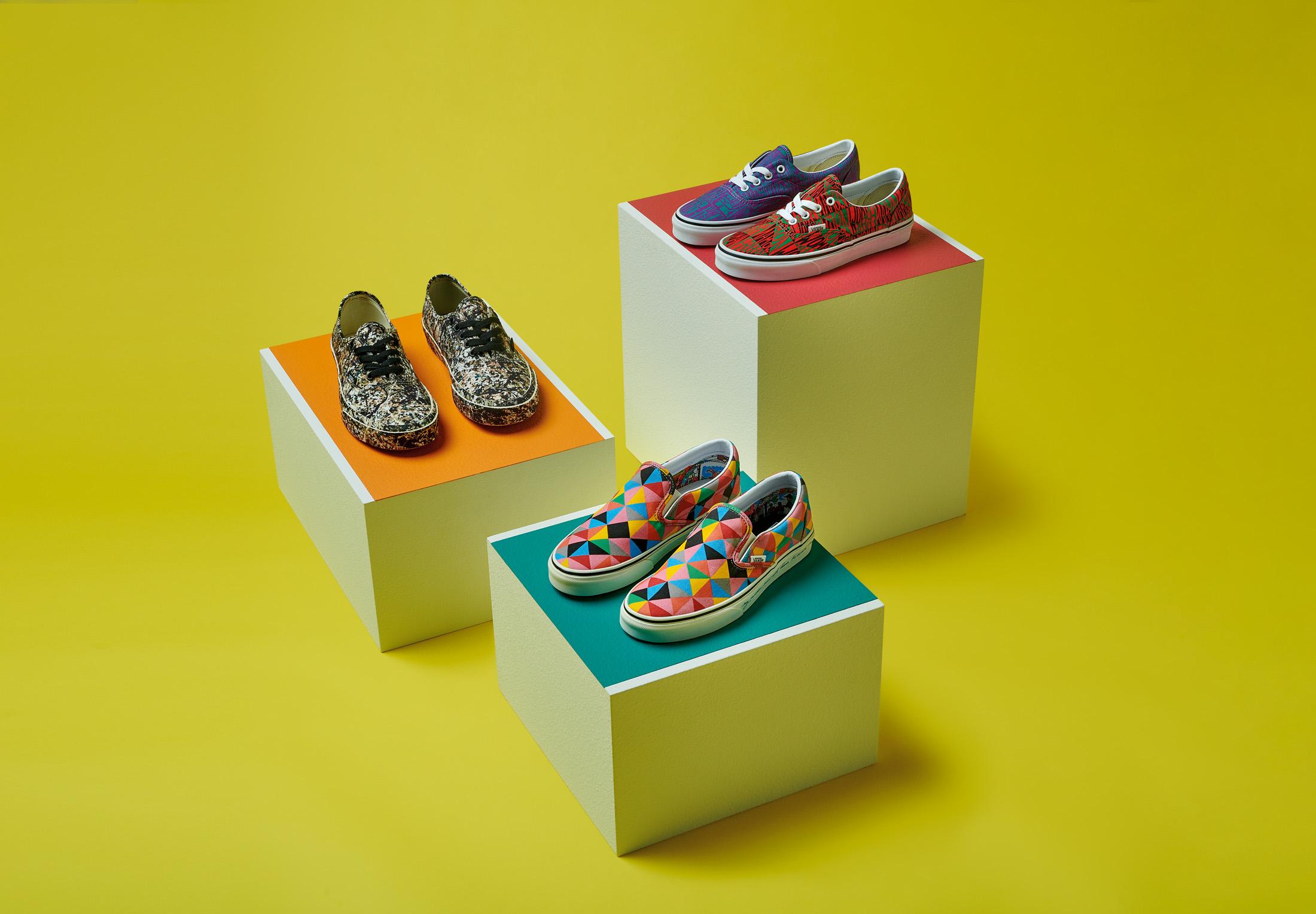 モマ ヴァンズ バンズ コラボ コレクション 限定 第 2弾 MoMA Vans Collaboration Collection Part 2 Main
