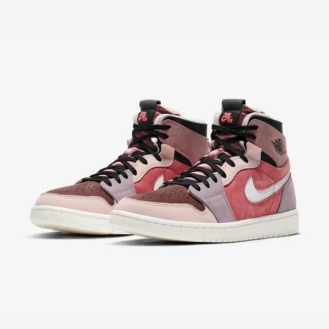 """ナイキ エア ジョーダン 1 ハイ ズーム コンフォート """"キャニオンラスト"""" Nike-Air-Jordan-1-Zoom-Comfort-Canyon-Rust-CT0979-602-pair main"""